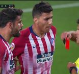 Diego Costa Red Carded Against Barcelona
