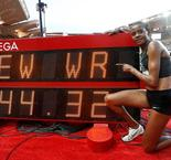 Lyles, Semenya shine as Chepkoech smashes steeple world record