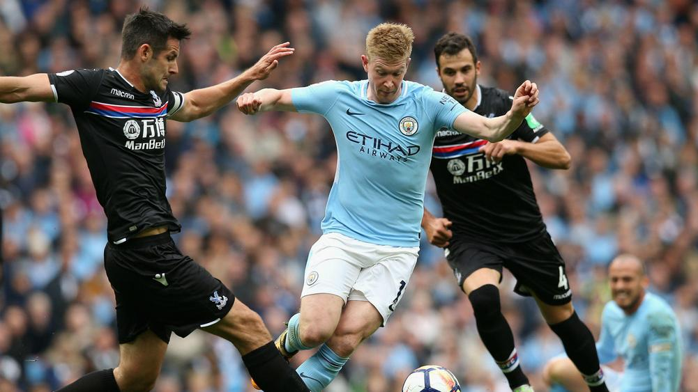 Kevin De Bruyne central to Manchester City success