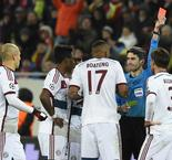 Shakhtar Dontesk 0 Bayern Munich 0: Xabi Alonso Sees Red in Feisty Draw