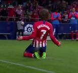 Griezmann Header Gives Atletico 2-1 Lead Over Valencia