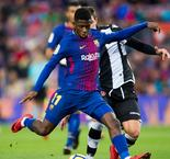 Valverde not making big deal of Dembele's latest Barca blow