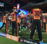 Royal challengers vs Sunrisers