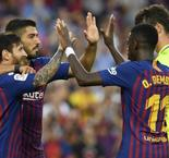 Barcelona 8 Huesca 2: Messi, Suarez hit braces as Blaugrana romp to third straight win