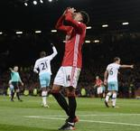 Mourinho banished to the stands as Man Utd held