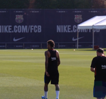 Messi, Suarez and Neymar return to training