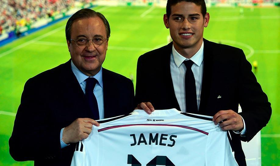 'Liverpool consider James Rodriguez as Coutinho replacement'