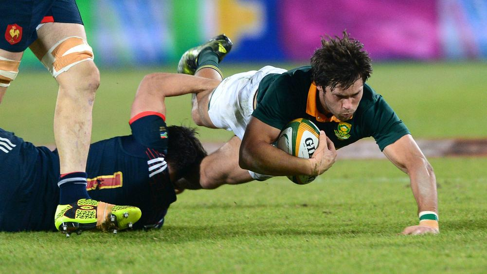South Africa overpower France to clinch series