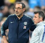 He's too frustrated - Zola on Sarri's absence from press conference