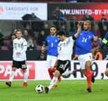 Germany 2 France 2: Late Stindl strike extends world champions' unbeaten run