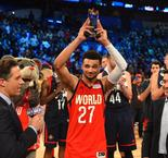 NBA : Jamal Murray mate l'équipe USA lors du Rising Stars Game (VF)