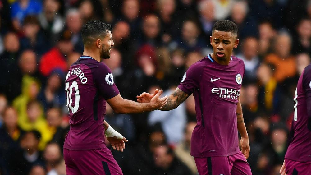 Pep Guardiola: 'Sergio Aguero, Gabriel Jesus will play together'