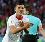 Xhaka apologises for eagle celebration after prickly Shaqiri stirs things