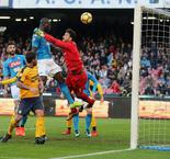 Napoli 2 Verona 0: Koulibaly, Callejon keep up leaders' winning run