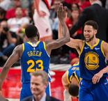 Los Warriors barren a los Blazers y ya están en la Final de la NBA