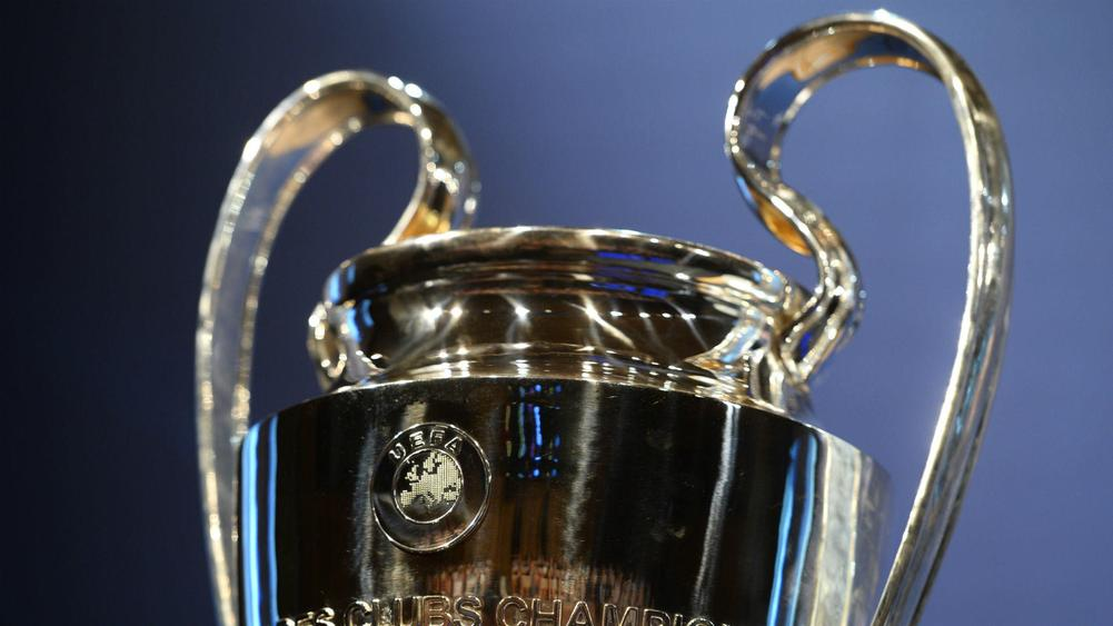 Champions League trophy - cropped