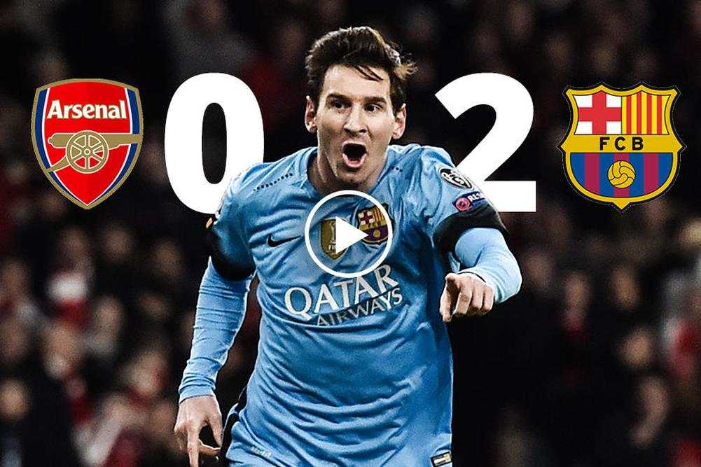 Lionel Messi a marqué le 10 000e but du club — FC Barcelone