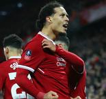 Van Dijk relishing first taste of Manchester United v Liverpool