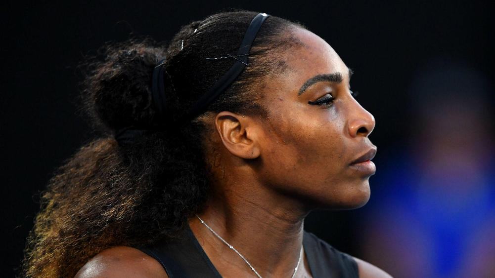 Serena back in action