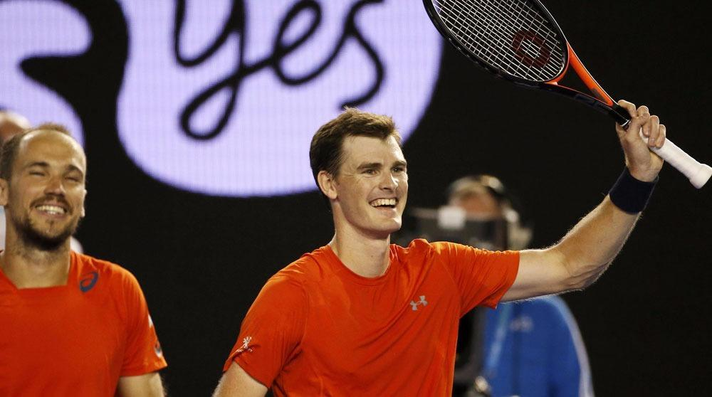 Late Night Murray Gets Doubles Boost From Brother
