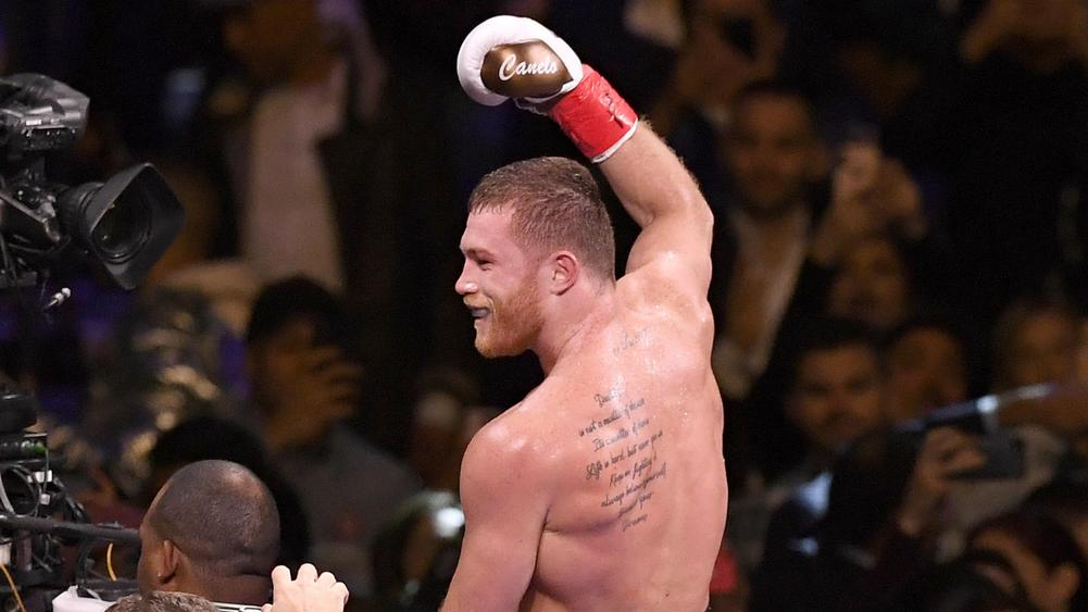 Canelo pummels Fielding in third round TKO at the Garden