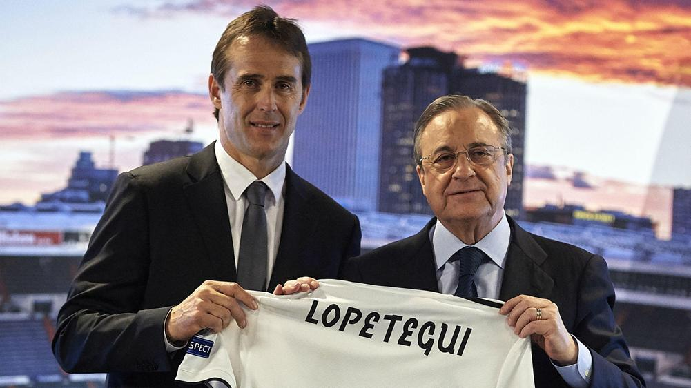 Gareth Bale holds positive talks with new Real Madrid boss Julen Lopetegui