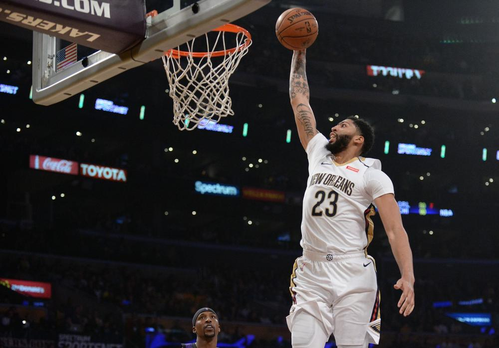 Anthony Davis New Orleans Pelicans Seattle