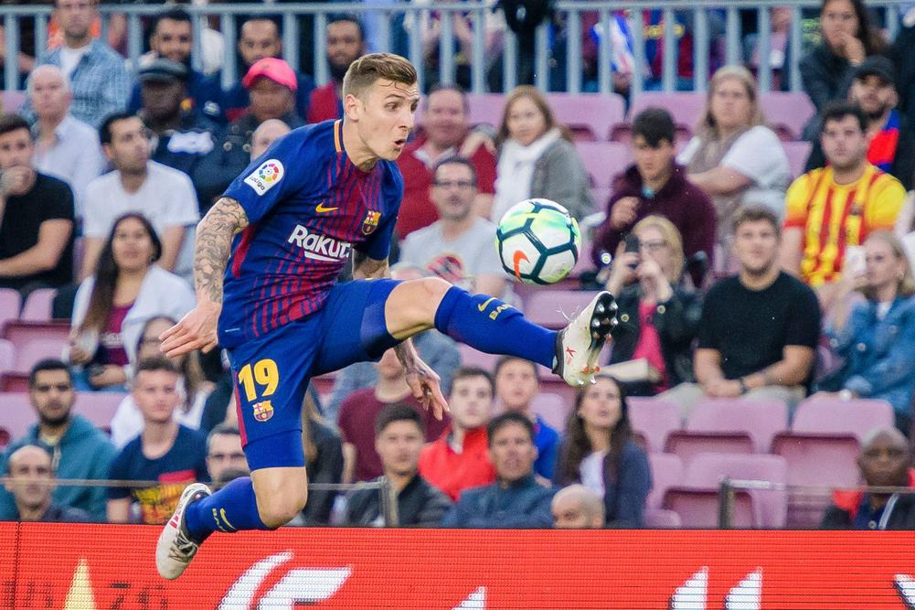 Everton, Barcelona agree Lucas Digne fee