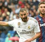 Real Madrid 3-2 Levante: Hazard makes debut as Benzema double secures nervy win