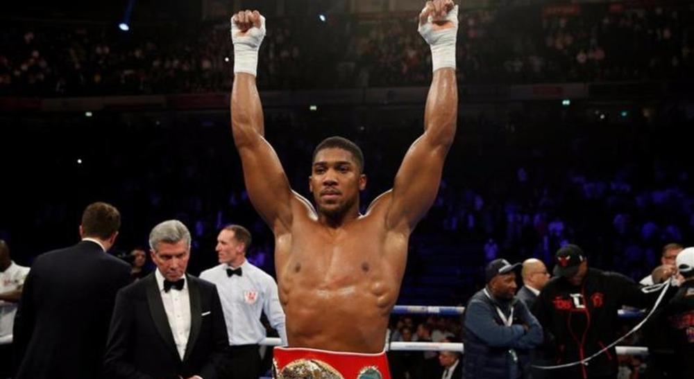 boxe - Anthony Joshua