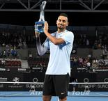Djokovic tips Kyrgios to challenge Federer and Nadal at Australian Open