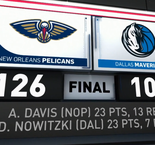 GAME RECAP: Pelicans 126, Mavericks 109