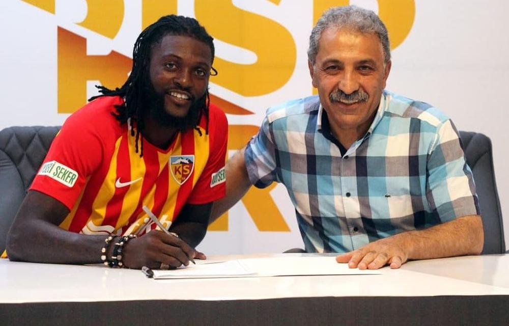 Emmanuel Adebayor has signed with Kayserispor of the Turkish Super Lig | beIN SPORTS