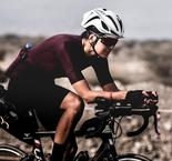 Another incredible achievement for Perrine Fages: the first female to finish the BikingMan