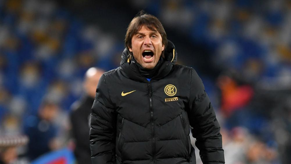 Image result for napoli 1-3 inter milan antonio conte