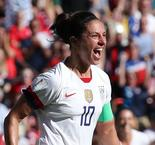 United States Star Carli Lloyd Sets Women's World Cup Scoring Record