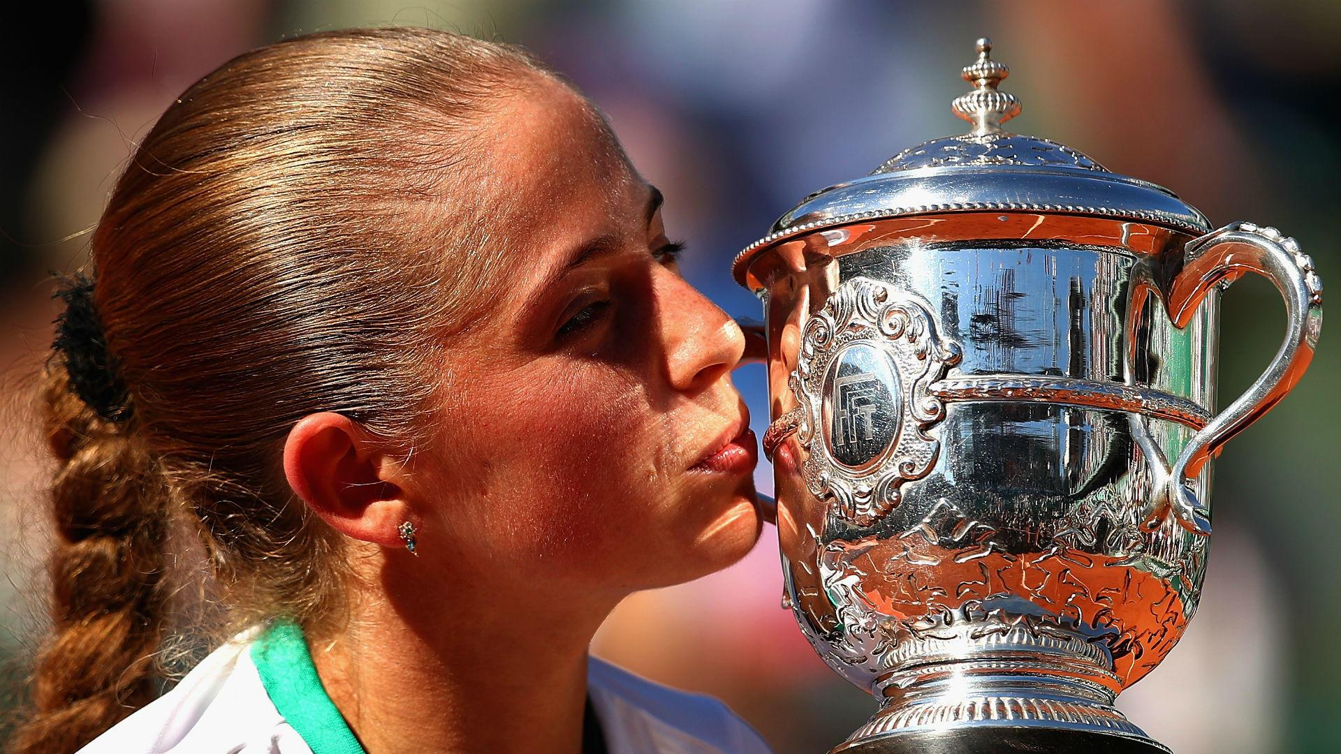 Jelena Ostapenko scales new heights in unlikely French Open triumph