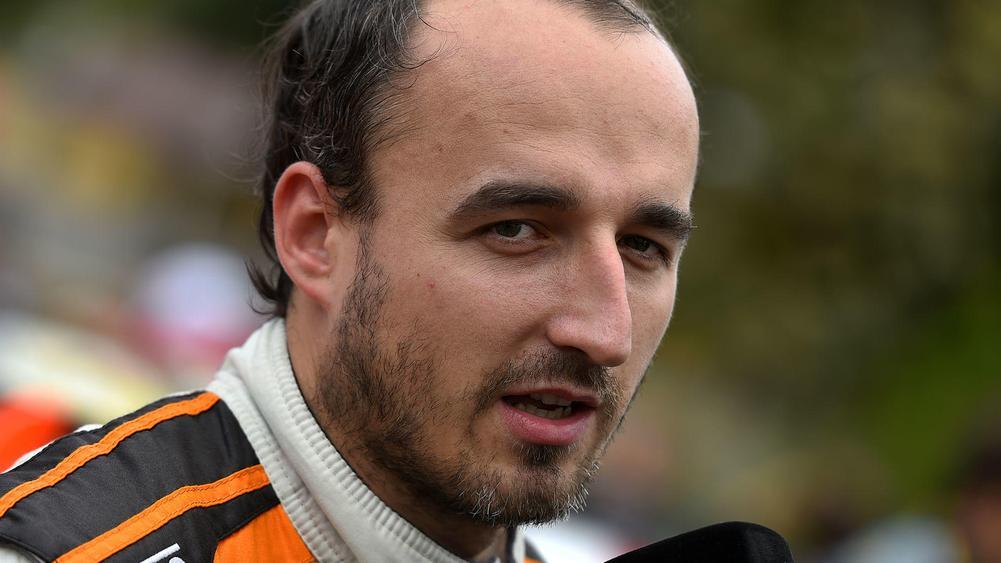 Formula 1 veteran Robert Kubica tests F1 vehicle  with Renault in Spain