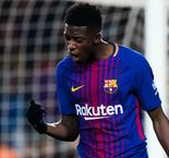 Vaverde: Barcelona Are Happy With Dembele