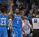 NBA - Oklahoma City submerge Houston