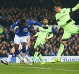 Lukaku gives Merseysiders the advantage