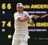 Anderson, Isner in second longest ever Wimbledon singles match