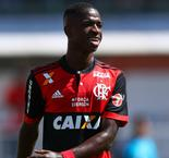 Real Madrid-bound Vinicius scores first professional goal for Flamengo