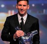 Lionel Messi Award and Usain Bolt Gold Medal in the Best of the Week