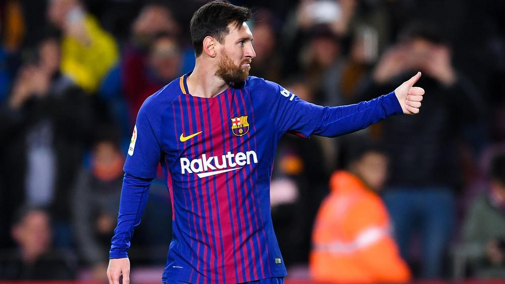 Messi's 2 Goals Help Barcelona Advance in Copa del Rey