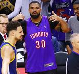 Drake And Draymond Green Exchange Words After Game 1 Of NBA Finals
