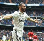Benzema hat-trick seals victory for Madrid