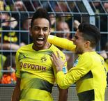 Aubameyang pips Lewandowski to golden boot
