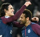 PSG's Cavani and Neymar Europe's hottest couple on Valentine's Day