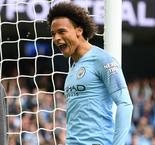 Sane the best in the world out wide, says Manchester City boss Guardiola